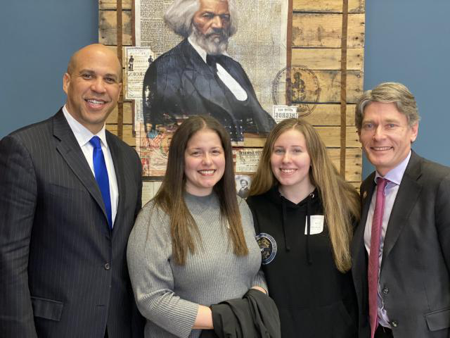 Kean student Hailey Seals was invited to the State of the Union by US Rep Tom Malinowski