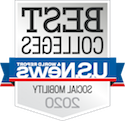 U.S. News and World Rep要么t 社会 Mobility badge